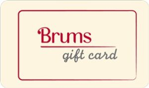 brums gift card
