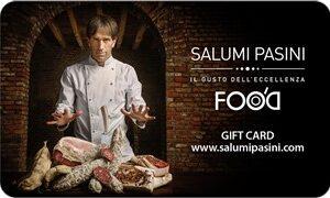 Gift Card Salumi Pasini da € 100,00