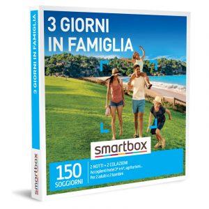 Smartbox Gift – 3 giorni in Famiglia da € 189,90