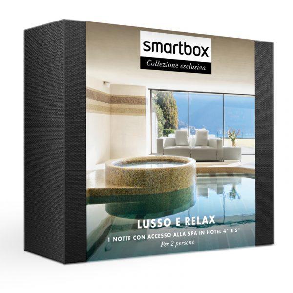 smartbox cofanetti lusso e relax