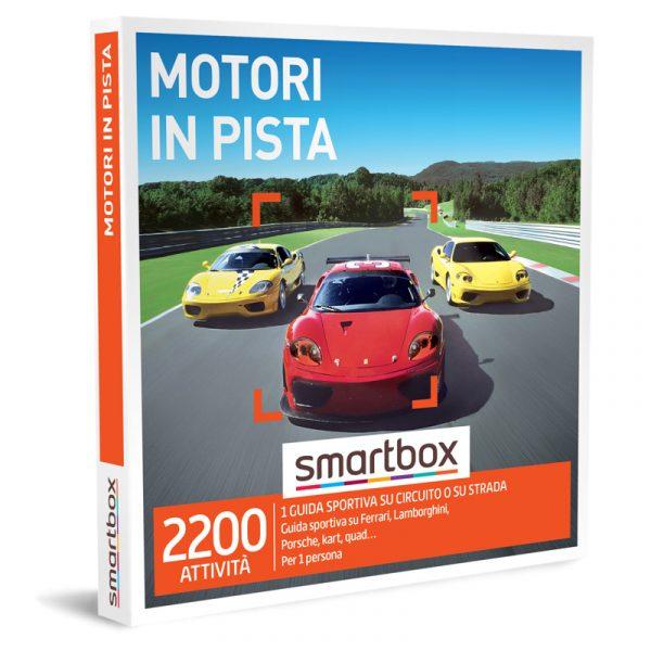 smartbox cofanetti motori in pista