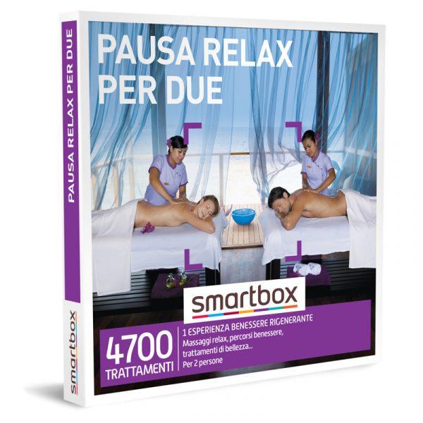 smartbox cofanetti Pausa Relax per due